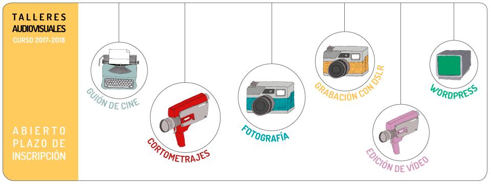 Talleres audiovisuales – Curso 2017-2018