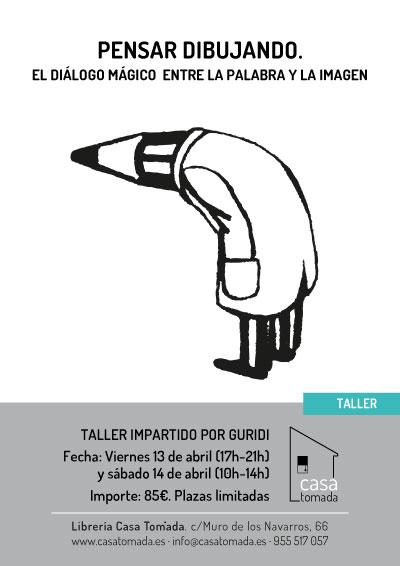 """Taller Guridi album ilustrado """"Pensar dibujando"""""""